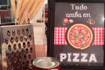 Decorações para Pizza em Domicílio