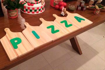 Decorações para Pizza em Empresas
