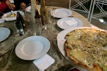Decorações para Pizza em Comércios